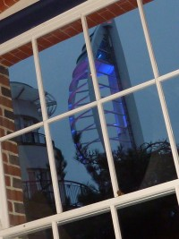 Spinnaker through window