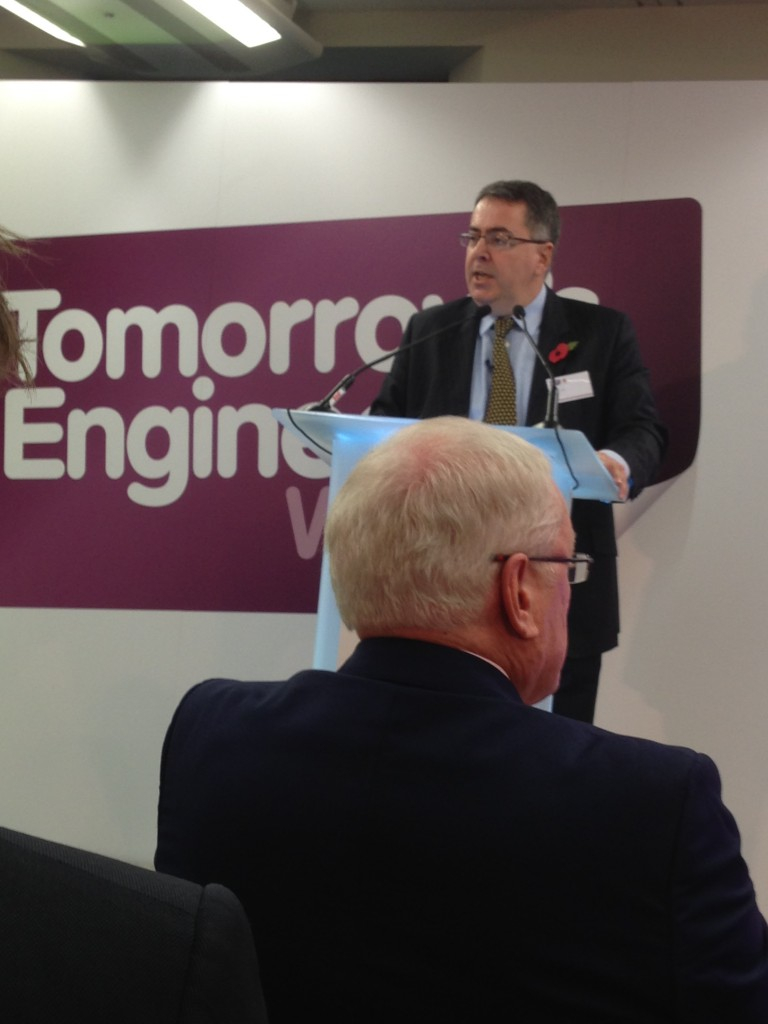 Erik Bonino, Chair of Shell, launches Tomorrow's Engineers Week 2014