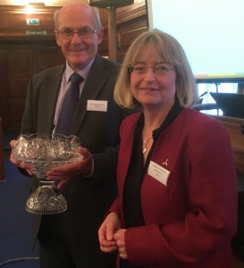 2016 Sir William Wakeham and Prof Stephanie Haywood