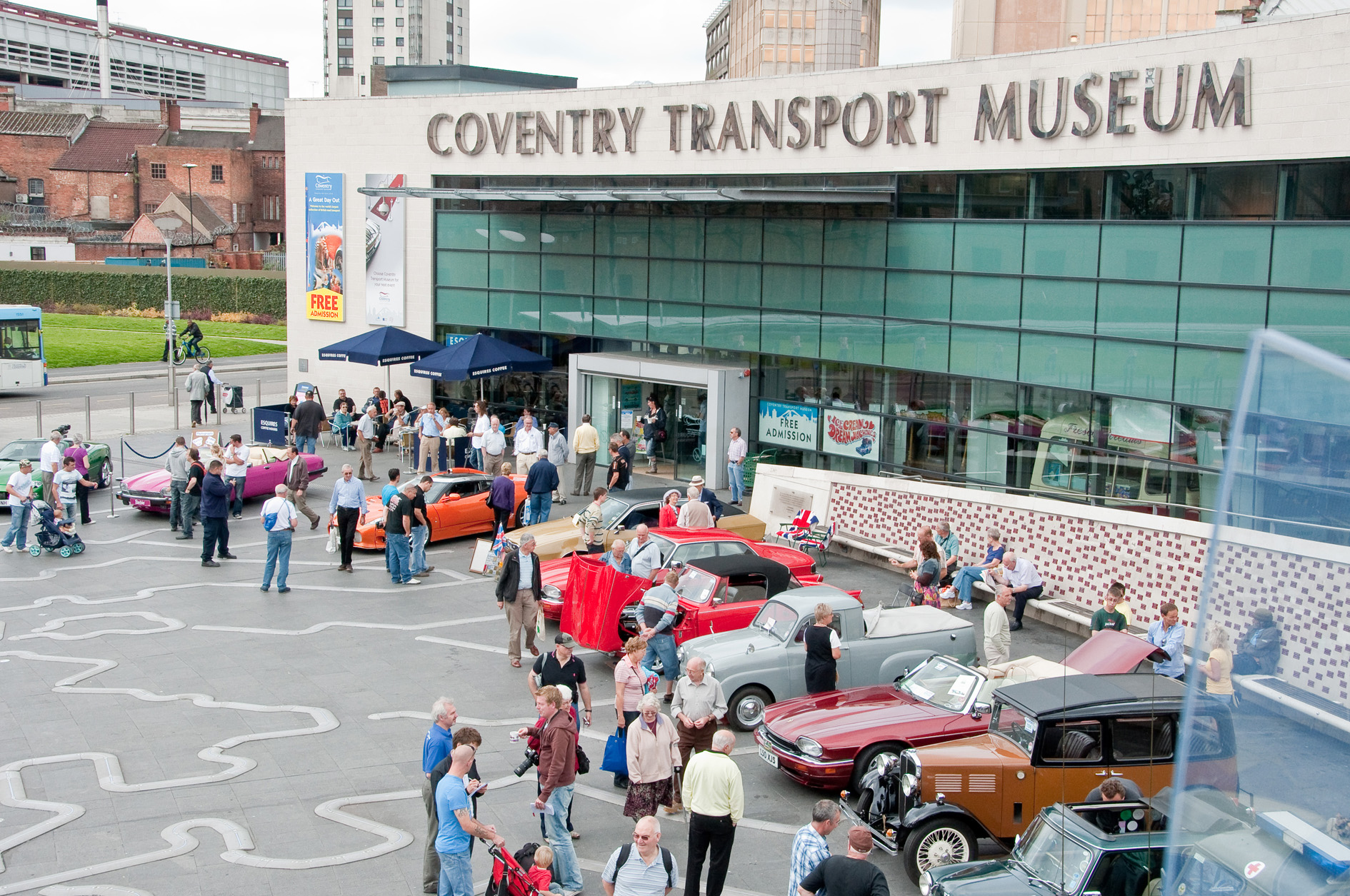 Congress Tour - Coventry Transport Museum