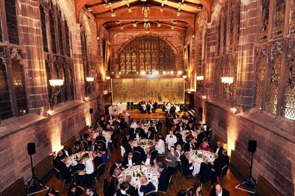 Congress Dinner - St Mary's Guildhall is one of the finest surviving medieval guildhalls in England
