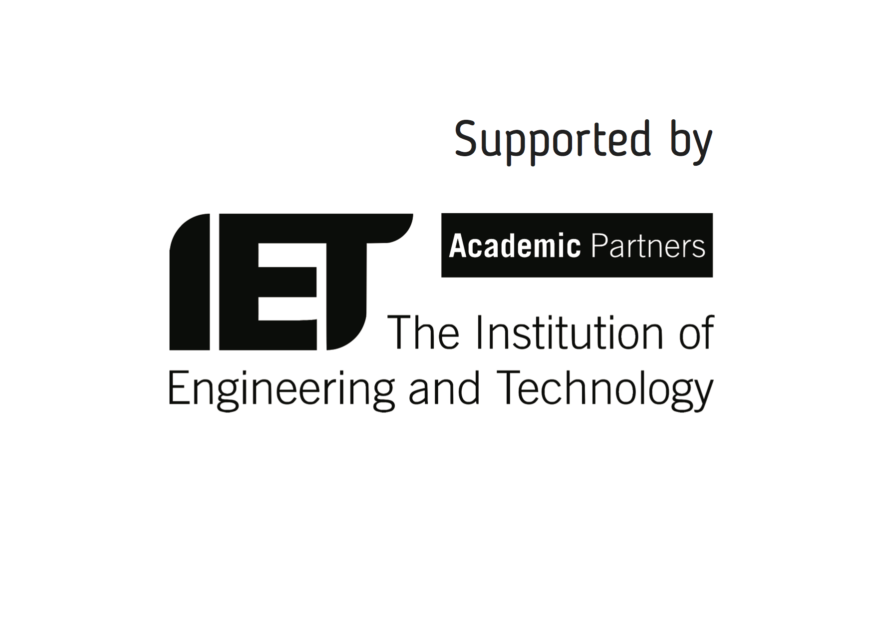 Supported by IET