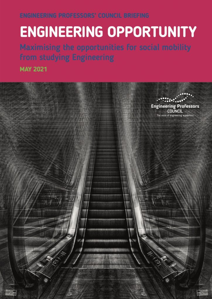 Report: Engineering Opportunity: Maximising the opportunities for social mobility from studying engineering