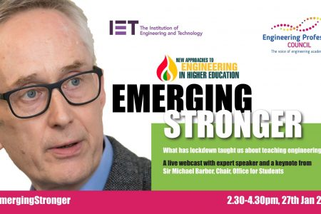 Webinar: New Approaches to Engineering Education: Emerging Stronger