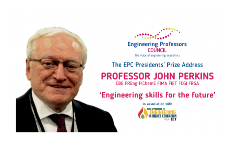 EPC Presidents' Prize address – Professor John Perkins