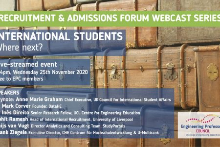 Wednesday 26/11/20, 14:00-16:00: International students: where now?