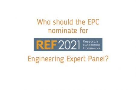 Nomination for REF 2021 Engineering Panel
